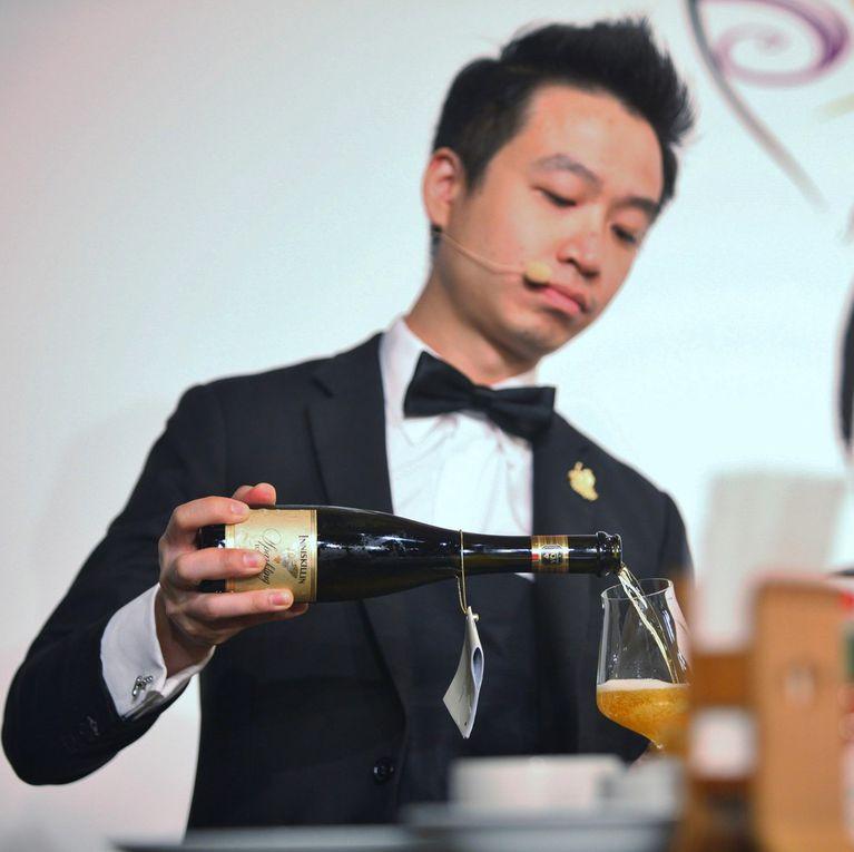 Kang Fung Reeze Choi pendant la finale. Photos Jean Bernard