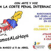 Nous marchons vers La Haye pour défendre la vie, la paix et la justice en Colombie