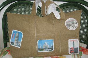 Grand sac de voyage 70x50cm