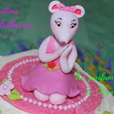 Gâteau Angelina Ballerina