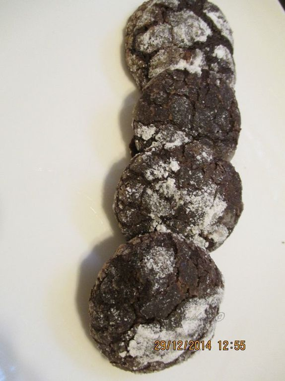 Biscuits aux Chocolats Terrible, Terrible Chocolates Cookies