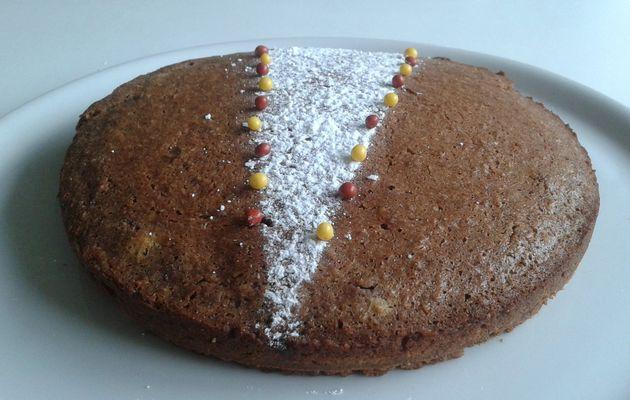 Gâteau cacao coco