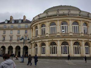 Balade au centre de Rennes ...