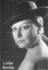 80 años del natalicio de la tonadillera Lolita Sevilla