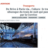 TRAINS de nuit : l'aberration du BRIVE-PARIS