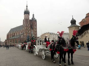 CRACOVIE et son marché de Noël