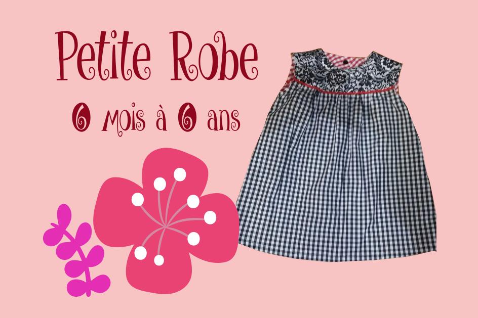 patron couture gratuit robe bébé enfant