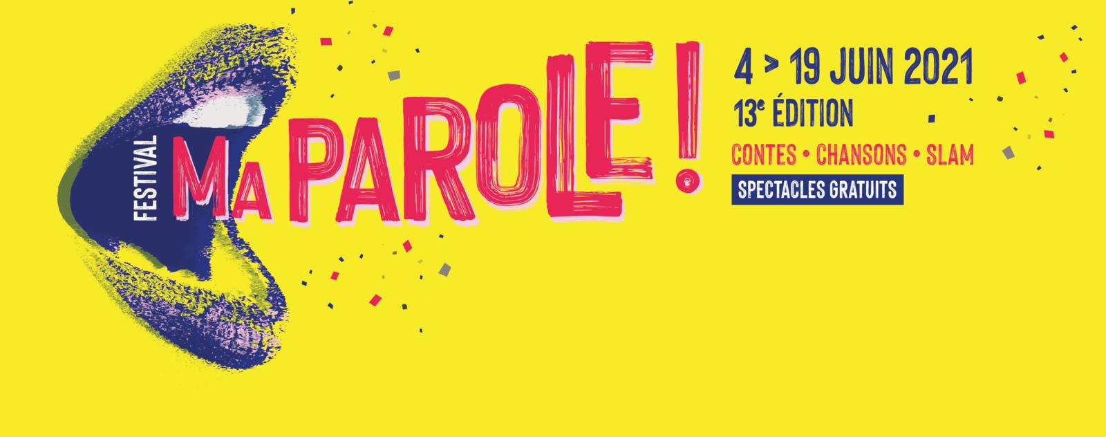 #CALVADOS - Festival MA PAROLE 2021 ! Programme
