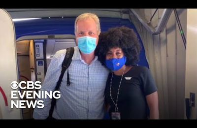Black flight attendant has emotional conversation with white airline CEO