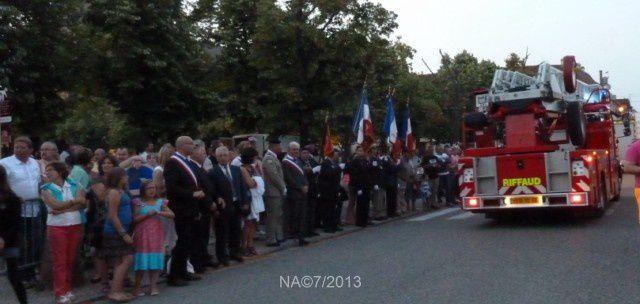 Festivités 2013 à Neuf Brisach: 13 juillet
