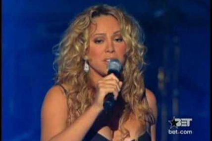 Mariah Carey (Stevie Wonder) Live at BET Walk Of Fame honoring Stevie Wonder Oct. 29, 2002 : You And I