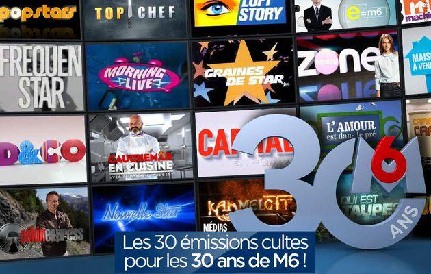 Les 30 émissions cultes pour les 30 ans de M6 ! #30ansM6