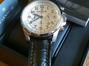 La montre que j'ai reçu