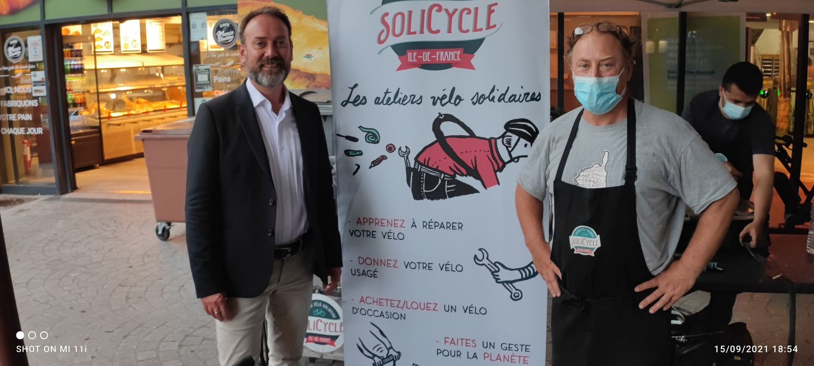 Atelier Solicycle gare de Colombes