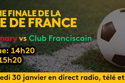 32ème Finale de la Coupe de France : US Sinnamary vs Club Franciscain !