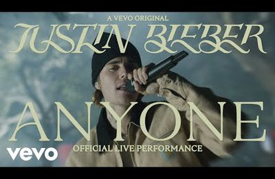 Justin Bieber - Anyone (Official Live Performance)