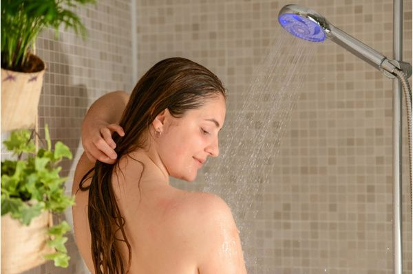 pommeau de douche connecté Hydrao Shower Aloé (photos officielles)