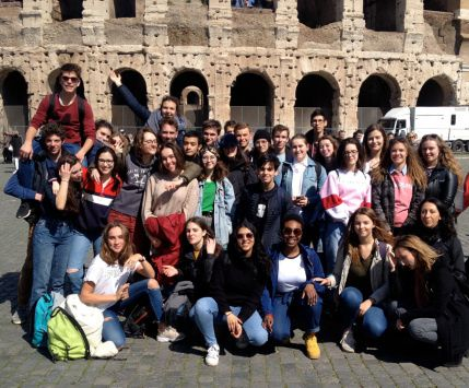 Rome et Naples : l'album des latinistes