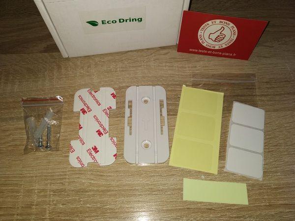 unboxing sonnette sans fil et sans pile ÉcoDring Rendez-Vous @ Tests et Bons Plans