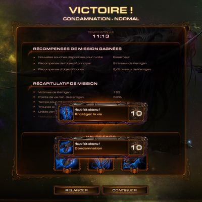 [Heart Of The Swarm - Campagne] Condamnation