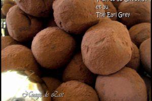 Truffes au Chocolat et au Thé Earl Grey