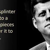 #CIA démantelée : #Trump réalise le rêve de John #Kennedy - MOINS de BIENS PLUS de LIENS