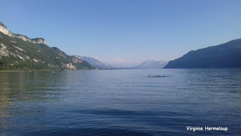 Lac d'Aiguebelette, lac du Bourget, Lac Vert en Haute-Savoie