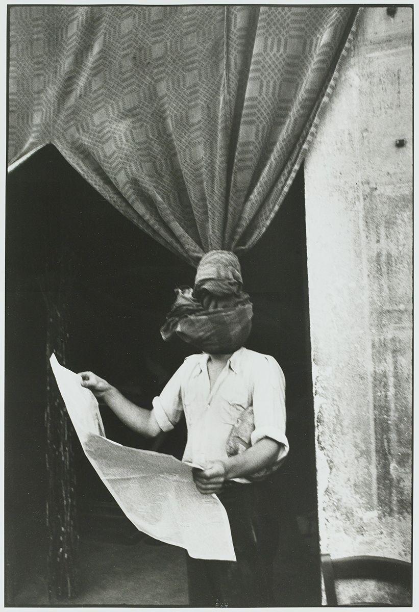 """""""Livourne, Italie"""", 1933 de Henri CARTIER BRESSON - Courtesy de la Fondation Henri CARTIER BRESSON / Magnum Photos"""