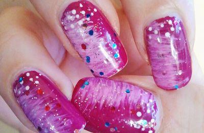 nail art au fanbrush