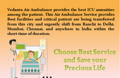 24/7 Hours Emergency Medical Assistance is Available Anytime-Vedanta Air Ambulance