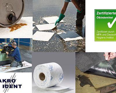 SPC Ölbindemittel: Hoch saugfähig mit geringen Entsorgungskosten