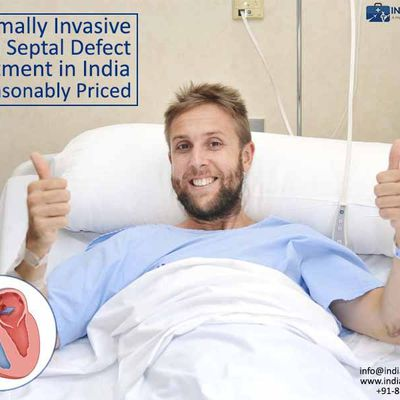 Minimally Invasive Atrial Septal Defect Treatment in India is Reasonably Priced