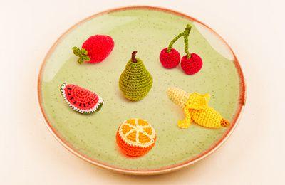Fruits Amigurumi 🍒 chez DMC