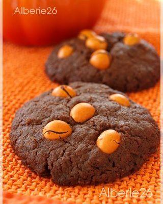 Cookies chocolat m&m's et riz soufflé
