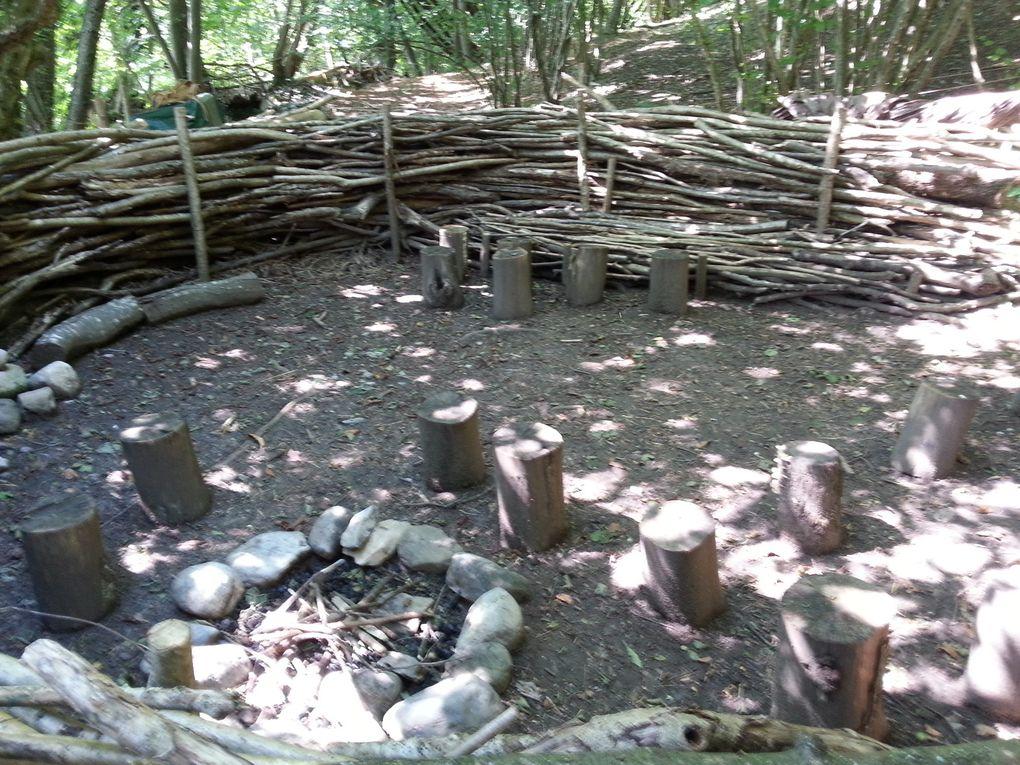 Ateliers de jeux en forêt toute l'année pour les 4-12 ans