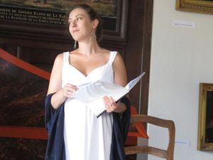 lisa magrini, une chanteuse lyrique pour les rôles d'opéra ou d'oratorios et co-créatrice de l'ensemble vox vagans