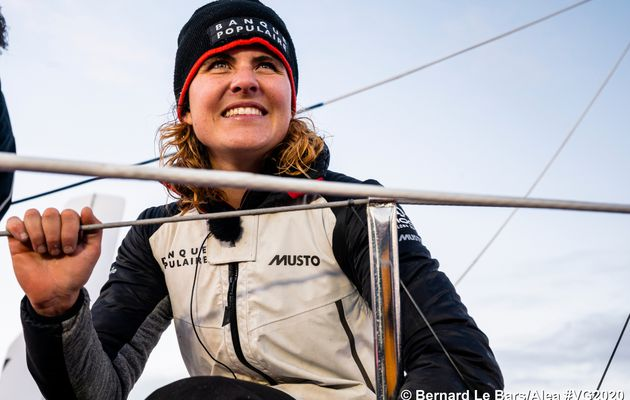 Celebrate women with 6 female skippers who ended their #Vendeegloberace2021