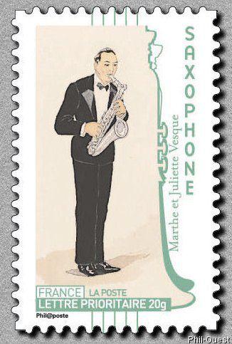 Les sœurs Vesques à l'origine d'un timbre postal.