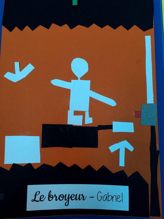 art enfant école primaire inspiration henri matisse collage sur charlotteblablablog