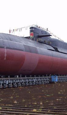 Le Severodvinsk entame des essais en mer.