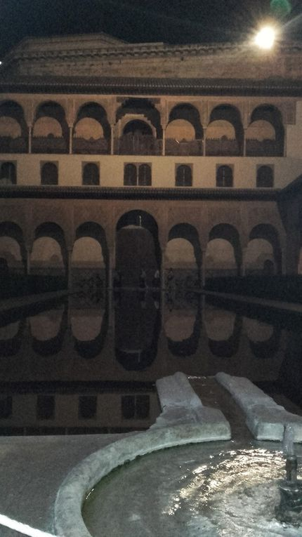 visita nocturna de la alhambra