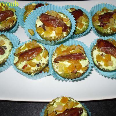 Mini tarts aux dattes et fruits confits