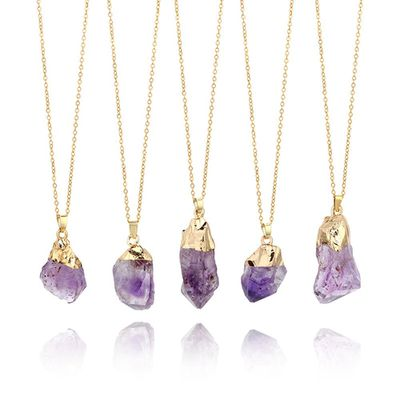 Natural Purple Amethyst Gemstone Pendant  (41) $8.53 free shipping You save 14% off the regular price of $10.00