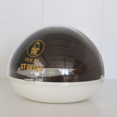 Sucrier boule de bar Rhum ST Gilles Années 70 - Vintage