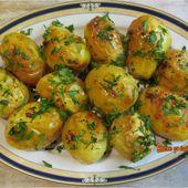 Pommes de terre dorées au four - www.sucreetepices.com