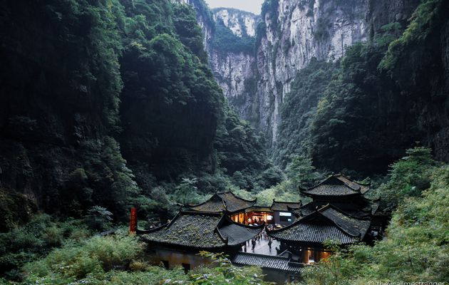 Chongqing 重庆 : le parc national géologique de Wulong 武隆国家地质公园 (Wulong Karst  武隆喀斯特)