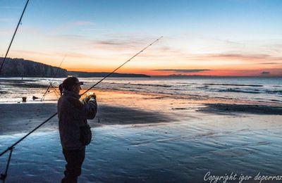 Pêcheur de nuit d'octobre