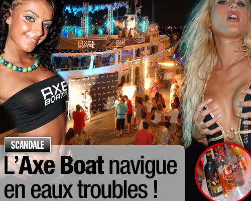 L'Axe Boat navigue en eaux troubles !