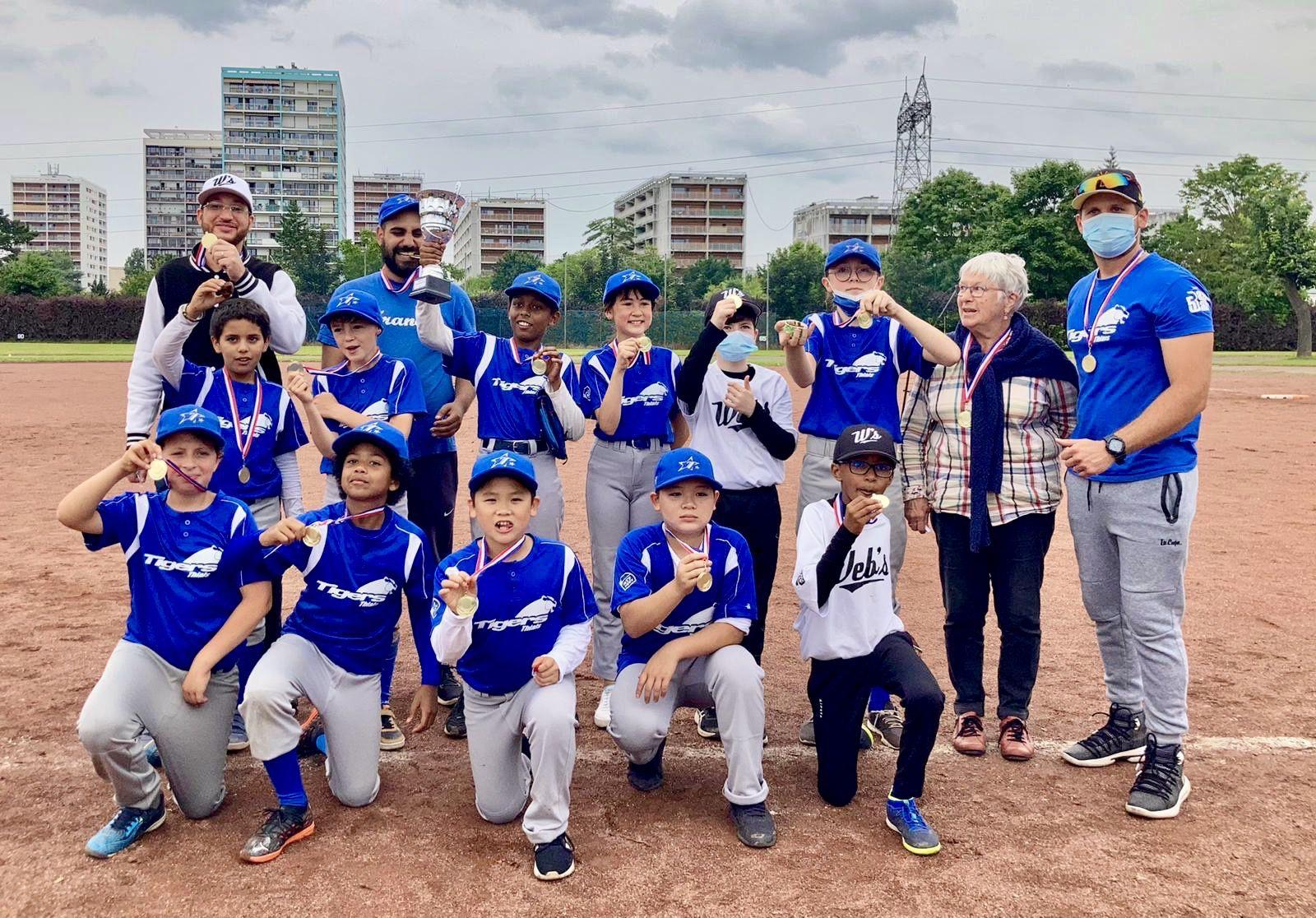 U12 et U15 - Les Web's et Tigers sont champions