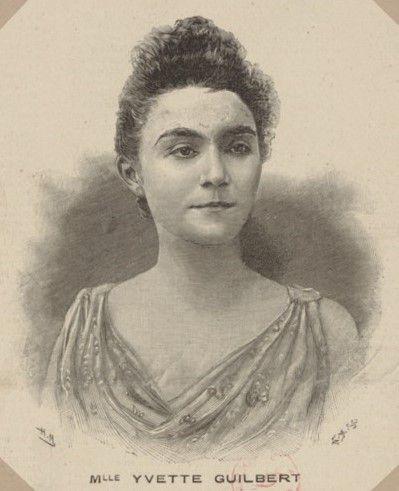 Yvette Guilbert chanteuse